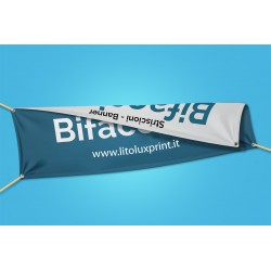 Banner bifacciale